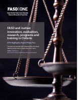 FASD and Justice Report Phase Two