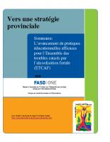 Sommaire Lavancement de pratiques educationnelles efficaces