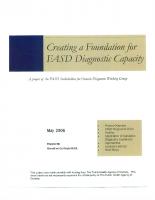 FASD Diagnostic Capacity (2006)